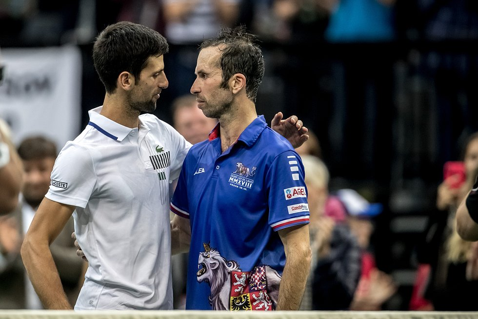 Přátelé Novak Djoković a Radek Štěpánek.