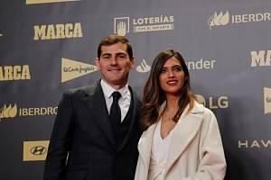 Iker Casillas a Sara Carbonerová