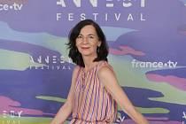 Režisérka Michaela Pavlátová na festivalu v Annecy