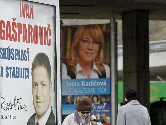 Slovenské prezidenstké volby. Ilustrační foto