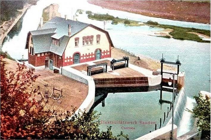 Vodní elektrárna Želina (1920)