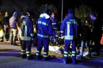Záchranáři u italského nočního klubu