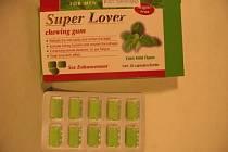 Žvýkačky Super Lover