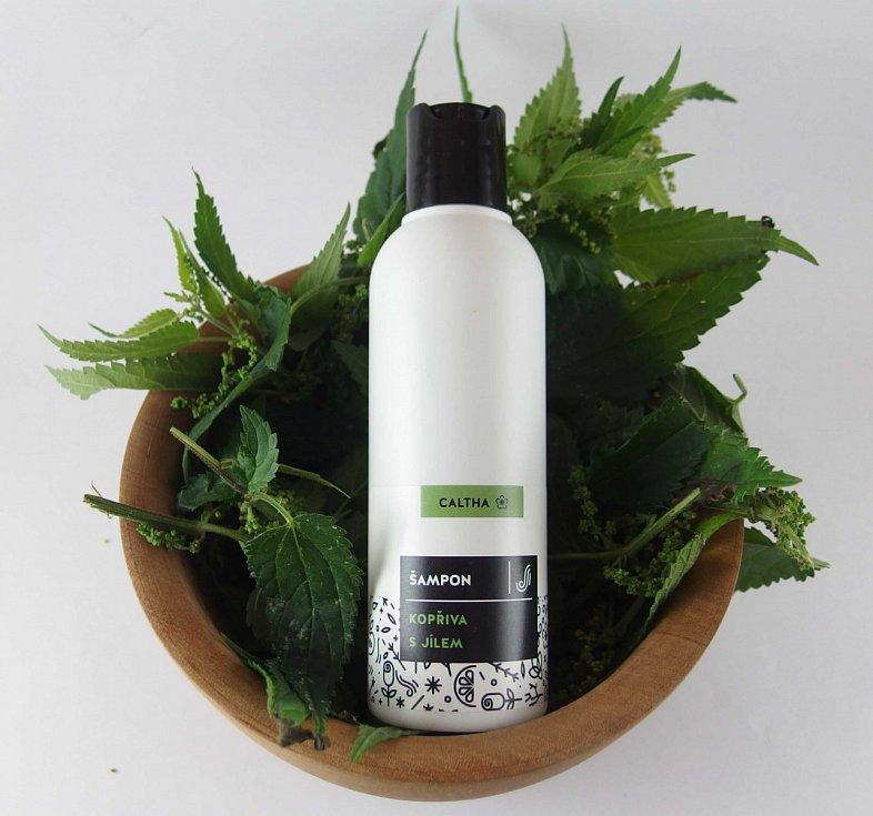 šampon značky Caltha