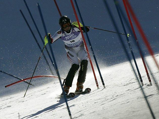 Slalom Světového poháru v GaPa se nejlépe vydařil Rakušanovi Reinfriedu Herbstovi.