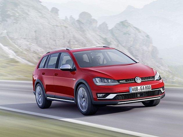 Volkswagen Golf Alltrack.