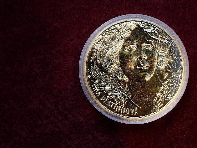 Česká mincovna představila 24. listopadu v centru Prahy nový produkt investičního zlata.