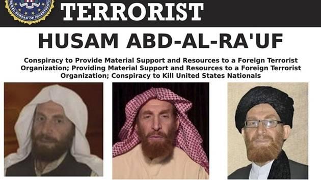 Abú Muhsín Masrí, jeden z lídrů teroristické sítě Al-Káida, na fotografiích zveřejněných americkou FBI