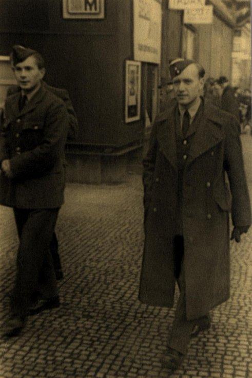 Alois Dubec frekventantem RAF