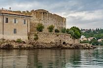 Hradby na chorvatském ostrově Krk