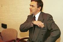 Miliardář Pavel Tykač před soudem. Ilustrační foto.