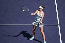 Karolína Plíšková na turnaji v Indian Wells.