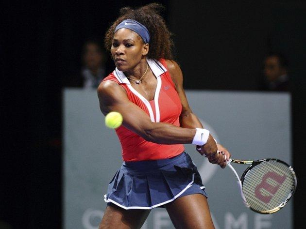 Serena Willimasová na Turnaji mistryň v Istanbulu.
