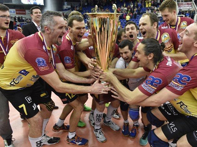 Volejbalisté Liberce obhájili mistrovský titul.