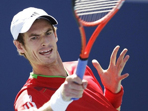 Andy Murray na US Open.