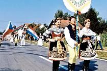Dožínky patří k nejvýznamnějším krajanským akcím české menšiny na Daruvarsku.