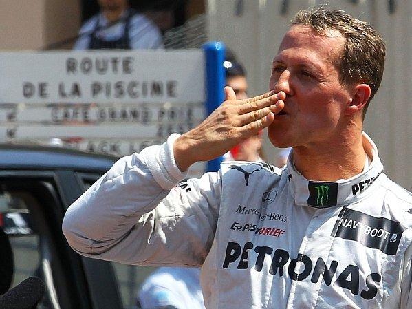 Michael Schumacher na VC Monaka.