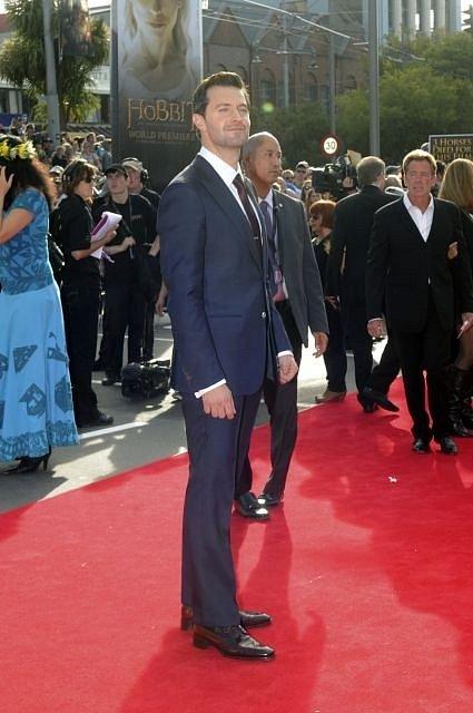 Netrpělivě očekávaná premiéra blockbusteru Hobit: Neočekávaná cesta se odehrála 28. listopadu v Embassy Theatre v novozélanském Wellingtonu. Na snímku trpaslík Thorin, Richard Armitage.