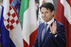 Italský premiér Giuseppe Conte na evropském summitu k migraci