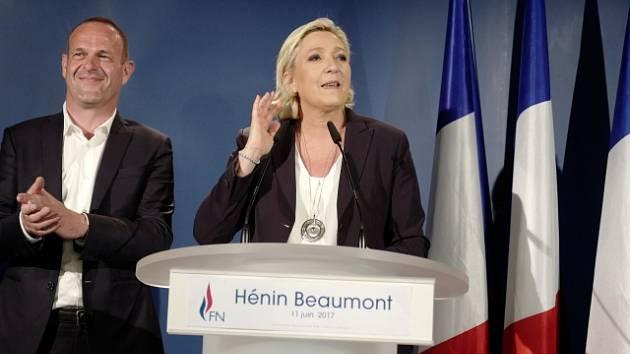 Marine Le Penová volá po reformě volebního systému.