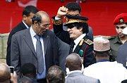 Libyjský prezident Muammar Kaddáfí.