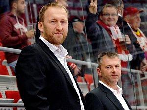 Marek Malík (vlevo) a René Mucha.