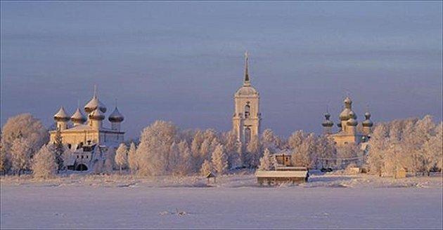Sibiřské městečko Kargopol