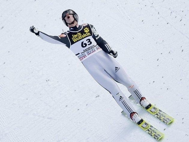 Roman Koudelka vybojoval v závodě Turné čtyř můstku v Garmisch-Partenkirchenu čtvrté místo.