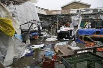 Následky řádění tajfunu Mangkhut na Filipínách.