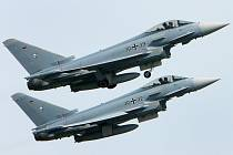Armádní letouny Eurofighter - Armádní letouny Eurofighter na snímku z 30. května 2008