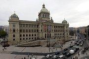 Zrekonstruovaná historická budova Národního muzea v Praze