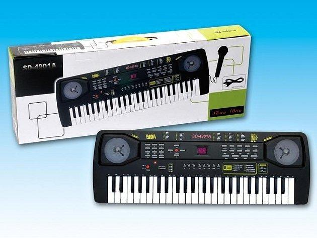 Při monitorování výrobků elektro v obchodní síti zjistili inspektoři ČOI prodej nebezpečných elektrických kláves s názvem SHAN DOU, SD-4901A.