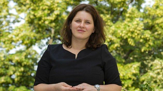 Kandidátka na ministryni práce a sociálních věcí Jana Maláčová z ČSSD