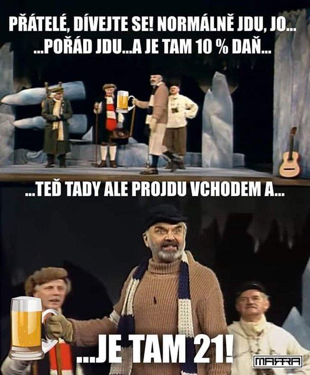 """Nejenom """"Vesnička"""", ale i Cesta na severní pól si řekla k pivu své"""