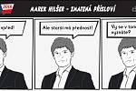 Prezidentské volby - komiks - Marek Hilšer - Zmatená přísloví