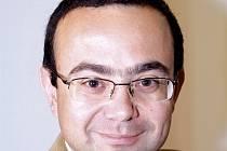 Politický geograf Michael Romancov.