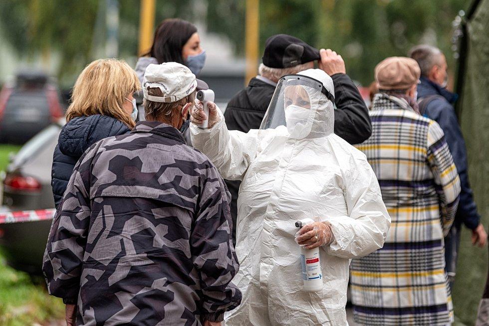 Měření teploty na Slovensku během epidemie koronaviru