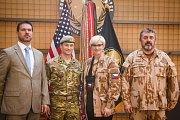 Jednání s vedením protiteroristické operace Inherent Resolve.