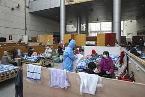 Provizorní nemocnice ve Wu-chanu