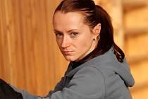 Jelena Slesarenková v Brně skočila do výšky 202 centimetrů.