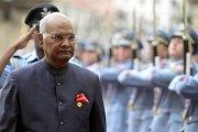 Do Česka dorazil indický prezident Rám Náth Kóvind.