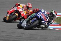 MotoGP v Brně: Jorge Lorenzo vyhrál, Marc Márquez dojel druhý