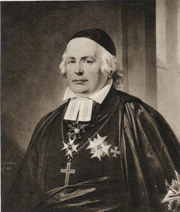 Od roku 1811 do roku 1854 byl biskupem v Lundu Wilhelm Faxe