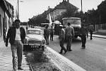 U příležitosti mezinárodního strojírenského veletrhu v Brně bylo třeba dopravit L-39 na místo výstavy. Letoun přistál na uzavřeném úseku D1 před Brnem a na výstaviště byl odtažen za nákladním automobilem.Let se odehrál 1.10.1973