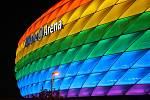 Mnichovská Allian z Arena se zbarví do barev LGBT+.