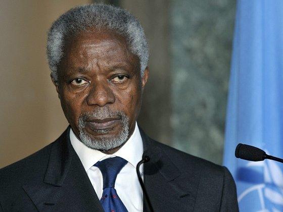 Zmocněnec OSN a Ligy arabských států Kofi Annan