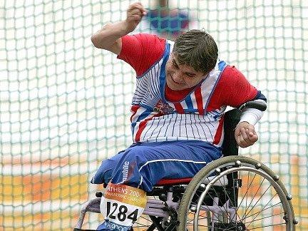 První medaili pro Českou republiku na paralympijských hrách v Londýně vybojoval Radim Běleš.