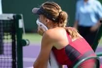 Nicole Vaidišová na turnaji v Miami.