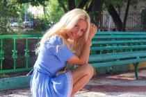 Manželka Dmitrije Jaškina Nadiya.