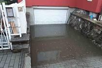 Zatopená garáž v Zábřehu
